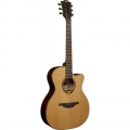 Guitare folk LAG T118 ASCE électro-acoustique Slim