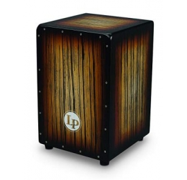 Latin Percussion Cajon Sunburst Streak.