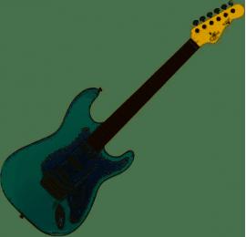 Guitare électrique G&L TS500-SBL-R