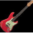 Guitare EKO Strat Aire Relic Fiesta Red