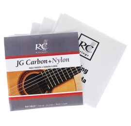 Jeu de cordes RC STRINGS JG Carbon+Nylon CNL40