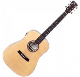 Guitare KREMONA Folk F10E électro-acoustique.
