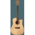 Guitare électro-acoustique Washburn WD7SCE