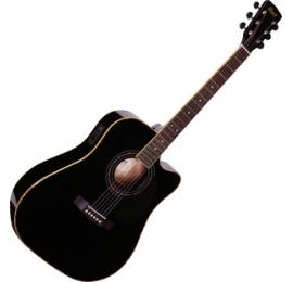 Guitare CORT AD880CE Electro-acoustique, noire.