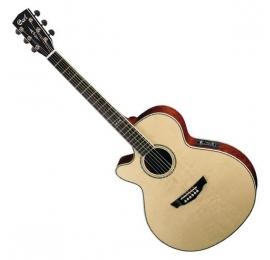Guitare CORT SFX5GNAT GAUCHER naturel Electro.