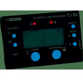 Accordeur métronome BOSS TU-30
