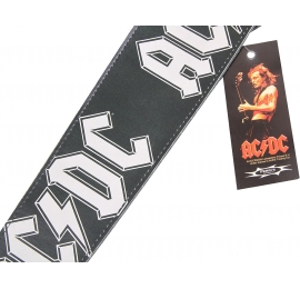 Sangle AC/DC cuir 8.5 cms