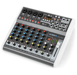 Table de mixage VMM-K802 8 canaux.