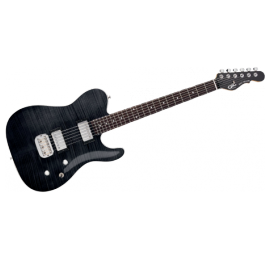 Guitare G&L Tribut Asat Deluxe Black TASDLX-TBK
