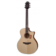 Guitare CRAFTER Al Autumn Leaves Maho Plus électro-acoustique